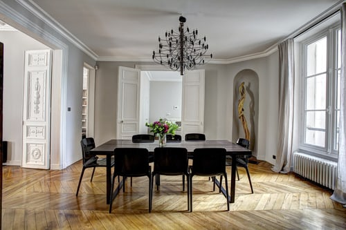 savvy-interiors-by-design-Interior decoration-dining-table