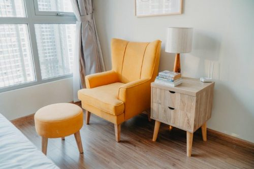 savvy-interiors-by-design-property-styling-chair-side-table-stock